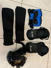 Pro Force Sparring Gear Judo Jujitsu Size Small Head Shin Feet Size 7 Gloves
