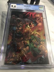 Joe Madureira Battle Chasers #1 virgin variant (chromium wrapped cover) CGC 9.6