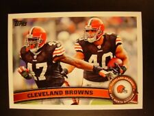 2011 Topps Cleveland BROWNS Team Set (13c)