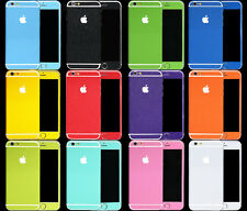 Pure Color Full Body Decal Skin Sticker Wrap Case Cover For Apple iphone 6 4.7""