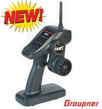 Graupner 33400 X-4S 2 Channel 2.4GHz HoTT Transmitter with GR-8 Receiver