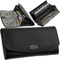 ESPRIT Damen Brieftasche 16 Karten Geldbörse Geldbeutel Portemonnaie Geldtasche