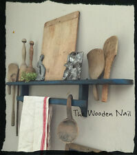 Primitive Spoon Treenware Towel Shelf Holder  Pattern/Plan WN173