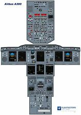 Cockpit - Flight Deck Training Posters 25%-100% - Airbus A380 - from £29.95