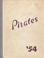 1954 ? HIGH SCHOOL annual yearbook (PIRATES) CITY? MINNESOTA