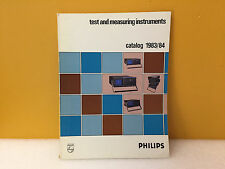 Philips 1983 / 1984 Test + Measuring Instruments Catalog