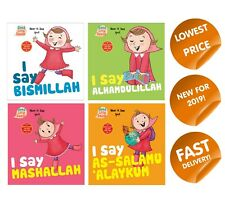 More details for i say series islamic childrens board book for manners respect fun activity