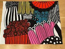 """Marimekko Fabric """"Siirtolapuutarha"""" 24 by 32 Inches, 100% Cotton, New"""