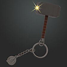 Disney Store Super Hero Thor Hammer Light Up Car Keychain avengers