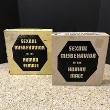 Cocktail Napkins 1950's Funny Sexual Misbehavior Human Male FemaleMCM Bar