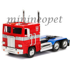 JADA 99524 TRANSFORMERS G1 1/24 DIECAST MODEL CAR AUTOBOT OPTIMUS PRIME