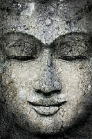 STUNNING ABSTRACT BUDDHA STATUE CANVAS #791 CANVAS PICTURE WALL ART HOME DECOR