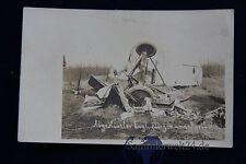 alte Foto AK Abgestürzter Engl. Flieger am 24.4.1917