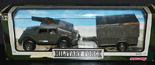 New Ray Military Force #60503 Military Jeep w/Auxiliary Troop