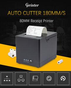 GPrinter AUTO CUT 80mm Thermal Receipt Printer USB / Net Port for POS machine
