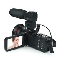 ORDRO HDV-Z20 Wifi 3'' LCD Video Camera Remote Control Camcorder With Microphone