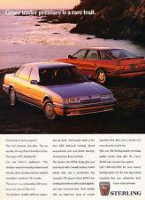 1989 Sterling 827SLi - Pressure - Classic Vintage Advertisement Ad D97