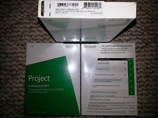 Microsoft Project Professional 2013,Sealed Retail Box,SKU H30-03673,Product Key
