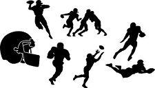American Football verschiedene Motive Sport Sticker Autoaufkleber Aufkleber Fun