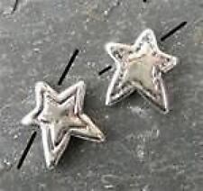 14mm Argent Sterling ** STAR ** bead