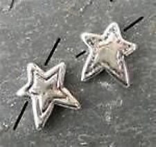 14mm STERLING SILVER ** STAR ** bead
