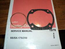 1976 HARLEY AERMACCHI  SS   175CC CYLINDER BASE HEAD  GASKET   AMF