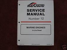 MERCRUISER DEALER SERVICE MANUAL'S- ENGINES-5 & 6 CYL