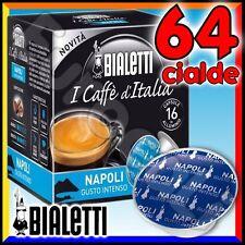 64 Capsule caffè BIALETTI NAPOLI cialde Mokespresso alluminio espresso Mokona•