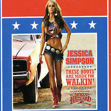 Jessica Simpson These Boots are Made for Walkin' [Single]  (CD, Sep-2005,