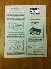 MARCONIPHONE 4262 Two-Track Battery/Mains Cassette Recorder Service Manual