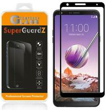 2-PACK SuperGuardZ FULL COVER Tempered Glass Screen Protector For LG Stylo 4