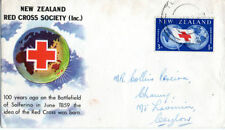 Red Cross British First Day Covers Stamps
