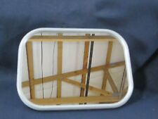 New Old Stock NOS Military Jeep Truck Mirrors Mirror 7.5 X 7.5 Replacement White