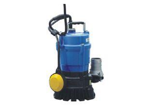 Tsurumi HSZ2.4S-62 Automatic Float Submersible Portable Drainage Pump 110V 1 PH