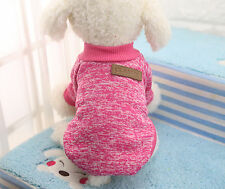 Cute Chihuahua Yorkie small dog pet fleece clothes coat jacket sweater soft warm