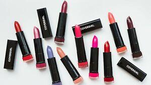 CoverGirl Exhibitionist Lipstick - Cream Demi-Matte Metallic - Choose Your Shade