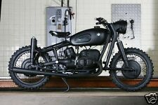 1963 BMW R60 Motorcycle, Refrigerator Magnet, 40 MIL
