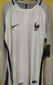 France Away Jersey 2016 2017 Long Sleeve BNWT NWT New Shirt LS