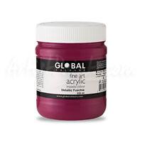 Metallic Fuchsia - PROFESSIONAL Global Colours Fine Art Acrylic Impasto 500ml