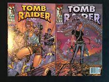 Tomb Raider #'s 0 & 5 Image Comics 2000