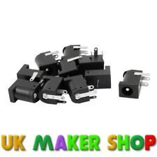 DC Power Supply Jack Socket Pack of 5 Size 5.5mm x 2.1mm