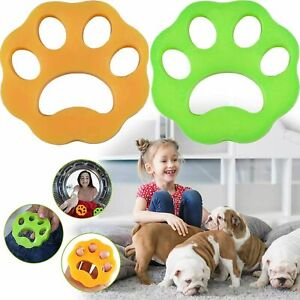 Pet Hair Remover for Laundry Washing Machine Cat Dog Fur Catcher Reusable UK