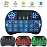 New 2.4G Red Backlit Wireless Keyboard Touchpad Rechargeable for TV Box Android