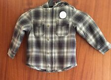 NEXT Boys Navy Chequered Jacket Age 3 Years New With Tags