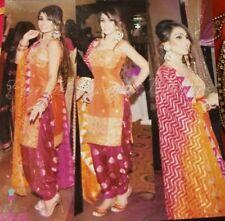 Punjabi suit fabric Party wear gota Patti work suit