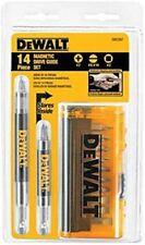 DeWalt Drive Guide Bit Set Heat-Treated Steel 14 pc. DW2097