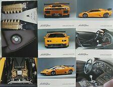 Lamborghini Diablo GTR 1999 Press Pack Kit Photograph x 9 Excellent