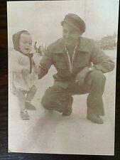 CPA N&B Le Comte Louis Pierre Bidard et son fils Didier Michel à Villers sur mer