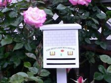 The Best Lady Bug House Painted, Recycled Wood- New, Instructions-free shipping!