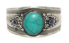Cuff Bracelet Turquoise Bracelet Tribal Bracelet Bohemian Bracelet Gypsy Yoga